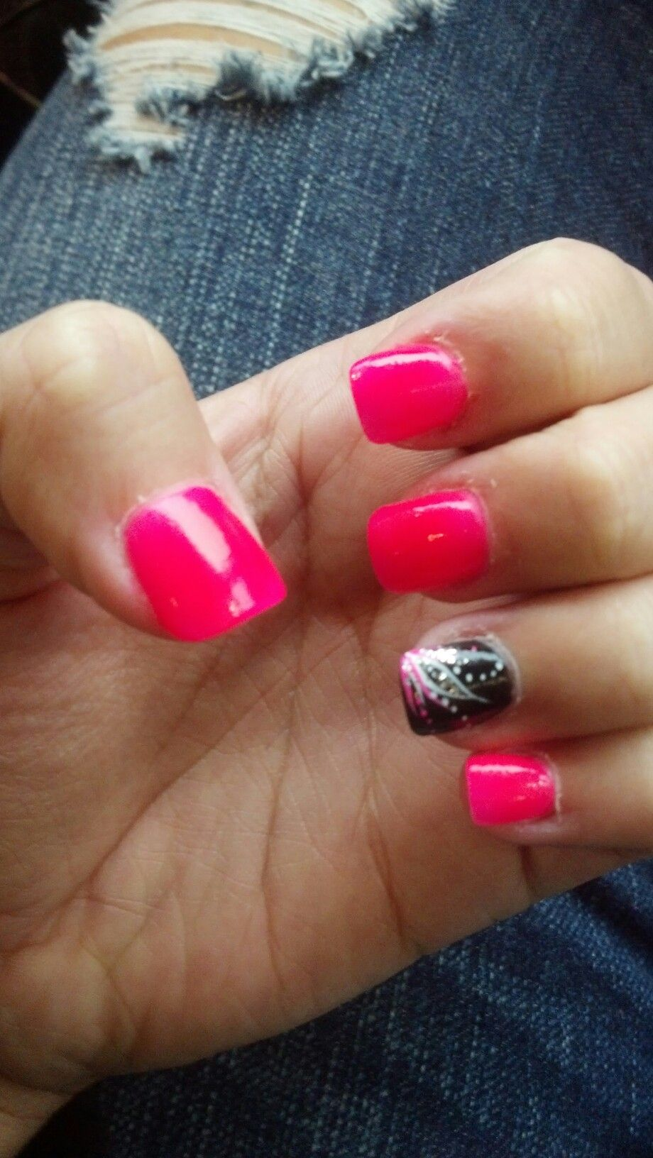 Cute Nail Design Summertime Nails Makeup Hair Beauty