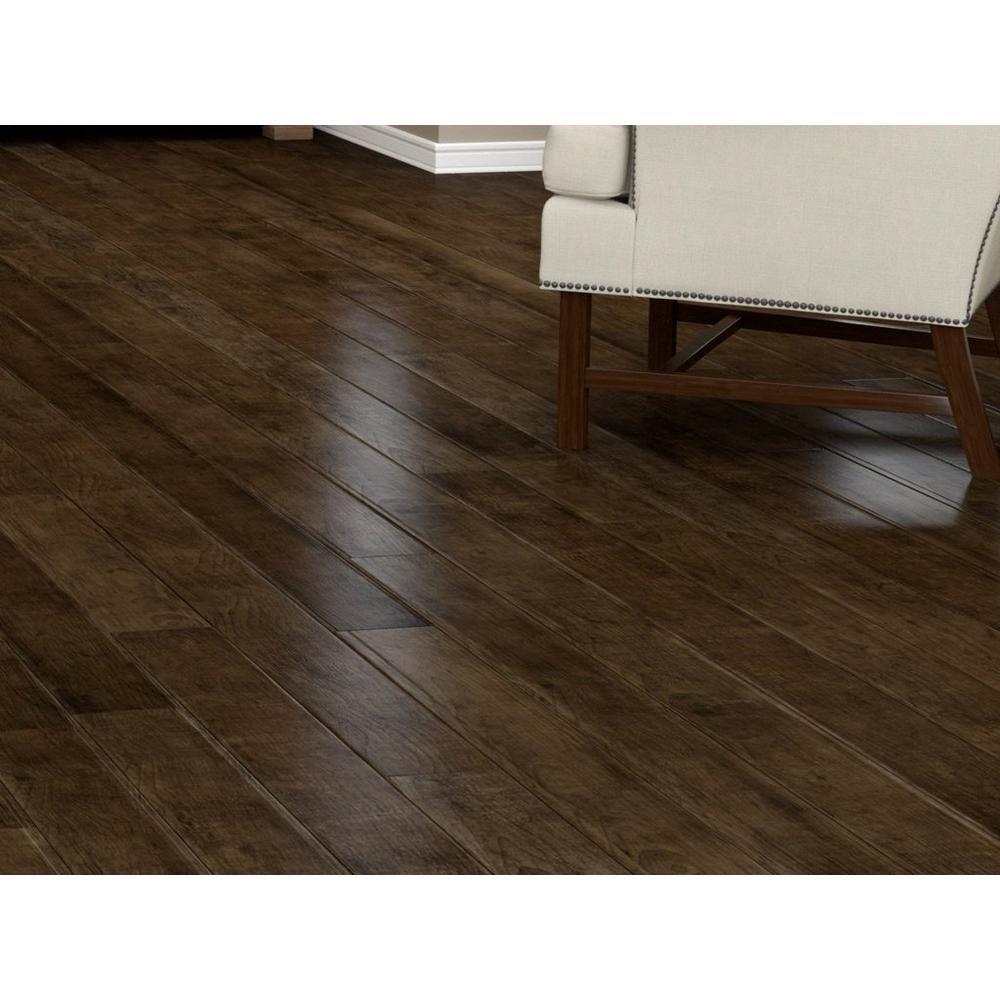 Nucore Cocoa Oak Hand Scraped Plank With Cork Back Floor Decor Best Vinyl Flooring Luxury Vinyl Plank Waterproof Vinyl Plank Flooring