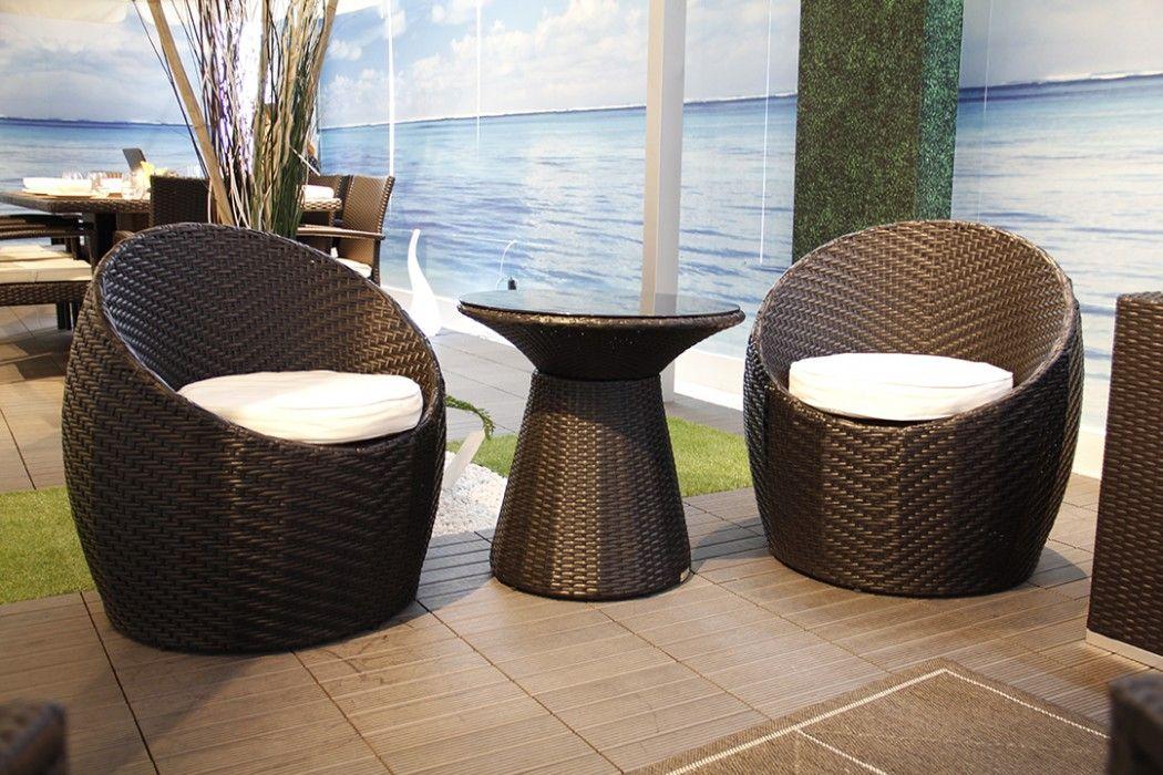 Ivy Outdoor Balcony Set By Modani Furniture