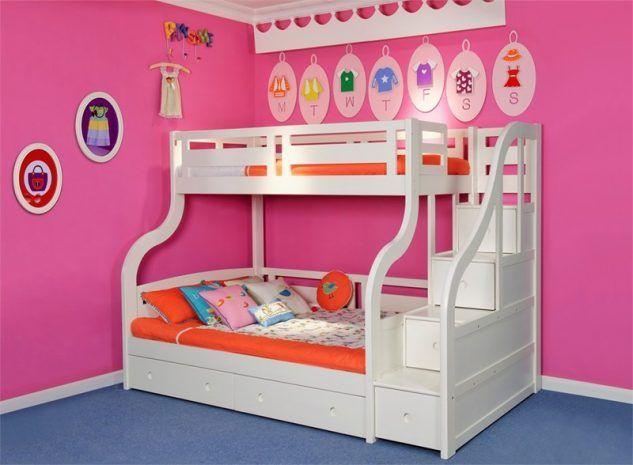 Dormitorios modernos con literas para ni os pinterest for Literas infantiles para ninas