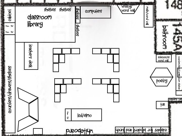 Elementary Classroom Layout Template Classroom Floor Plans For