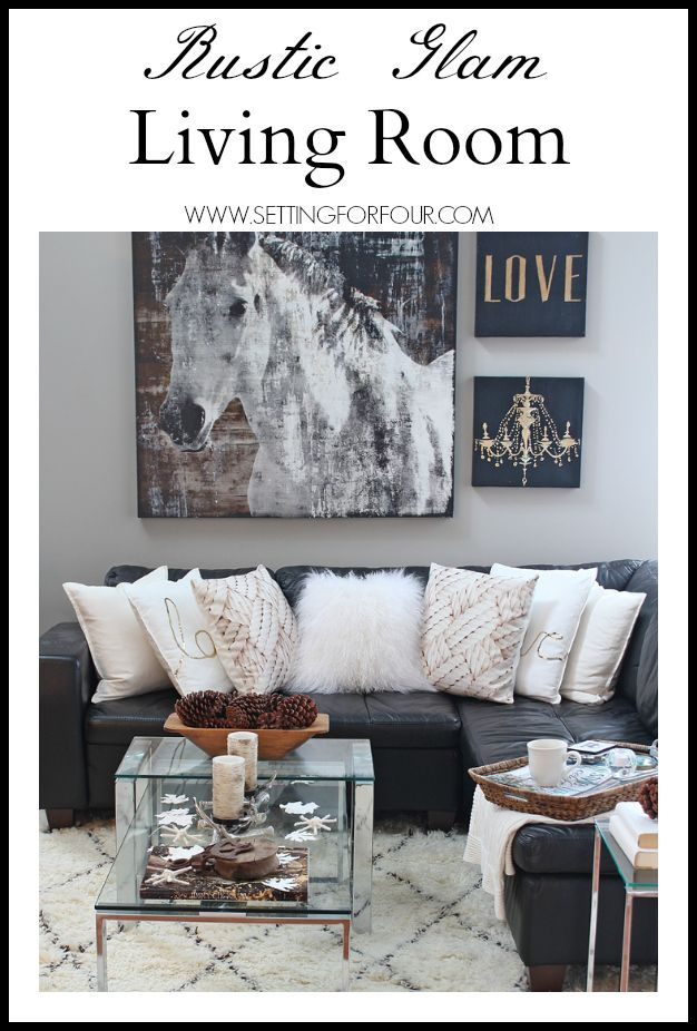 choosing rustic living room. Come See My Rustic Glam Living Room Makeover And New Area Rug! I\u0027m Choosing U