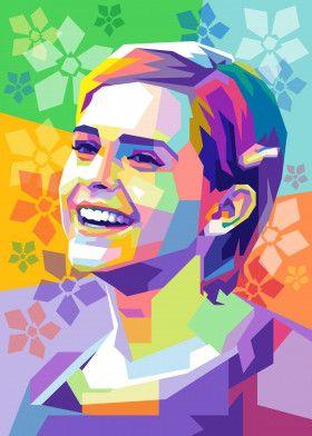 Emma Watson   Displate thumbnail