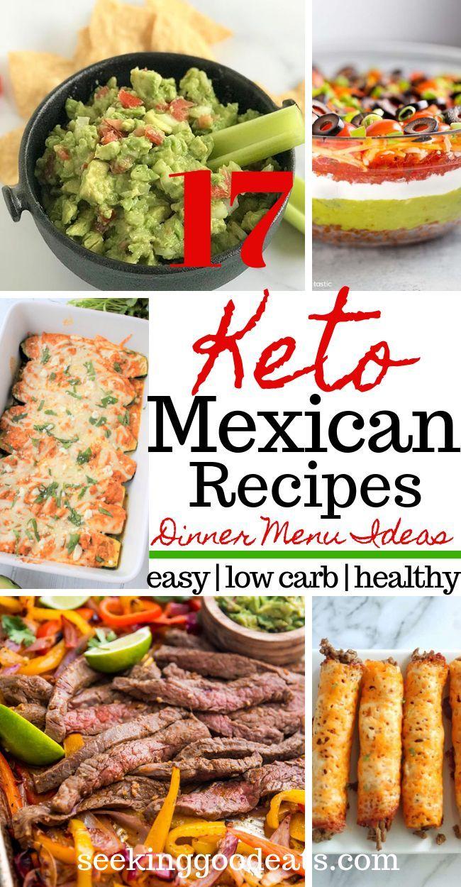Keto Mexican Recipes (Mexican Menu Ideas) #fooddinners