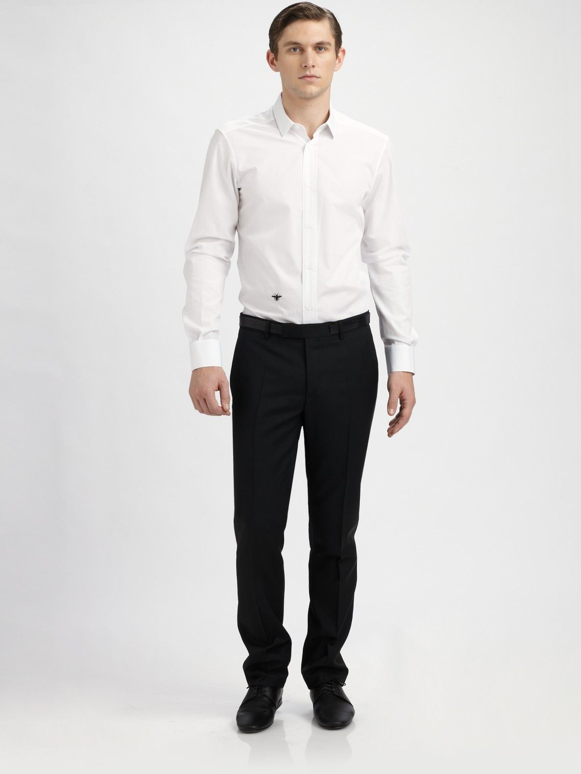 3008fc44f4f88 Dior homme Poplin Dress Shirt in White for Men | shirt | Poplin ...