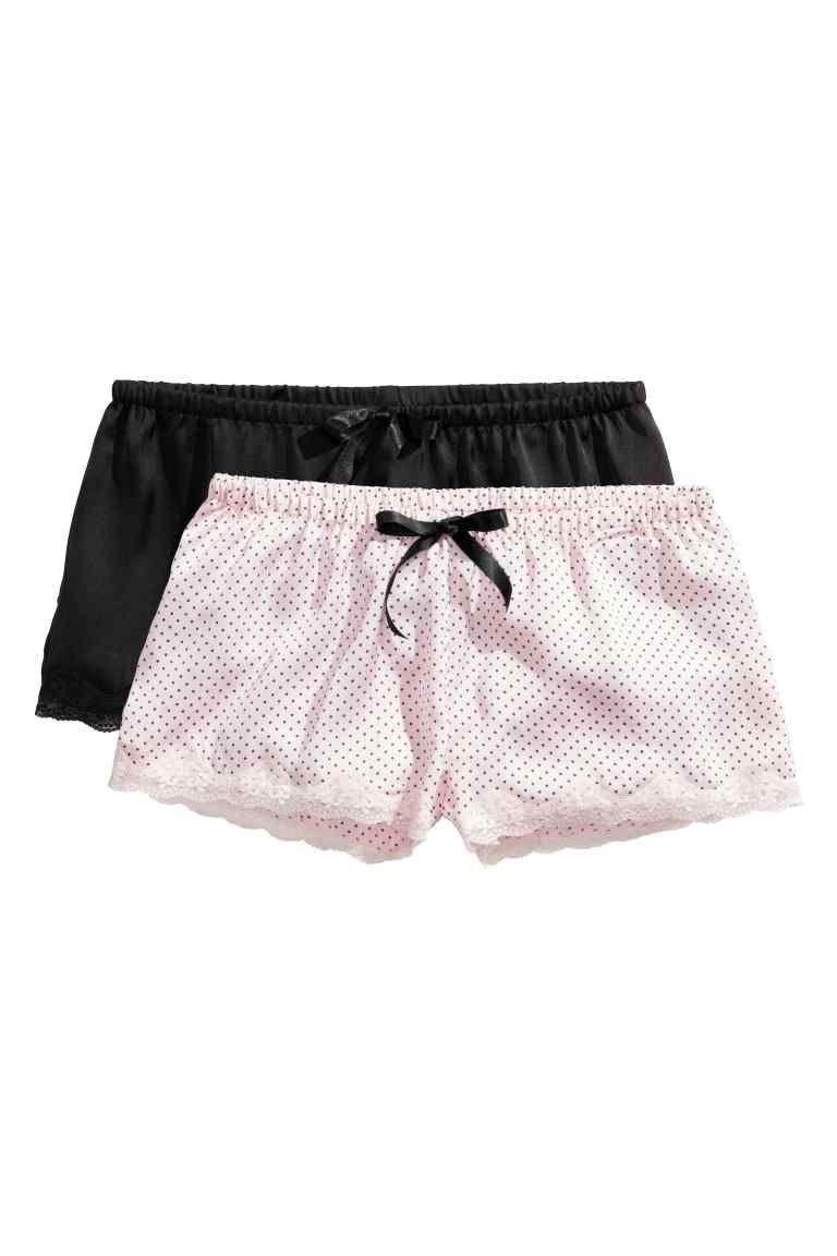a2a084a6aab3b Lot de 2 shorts de pyjama