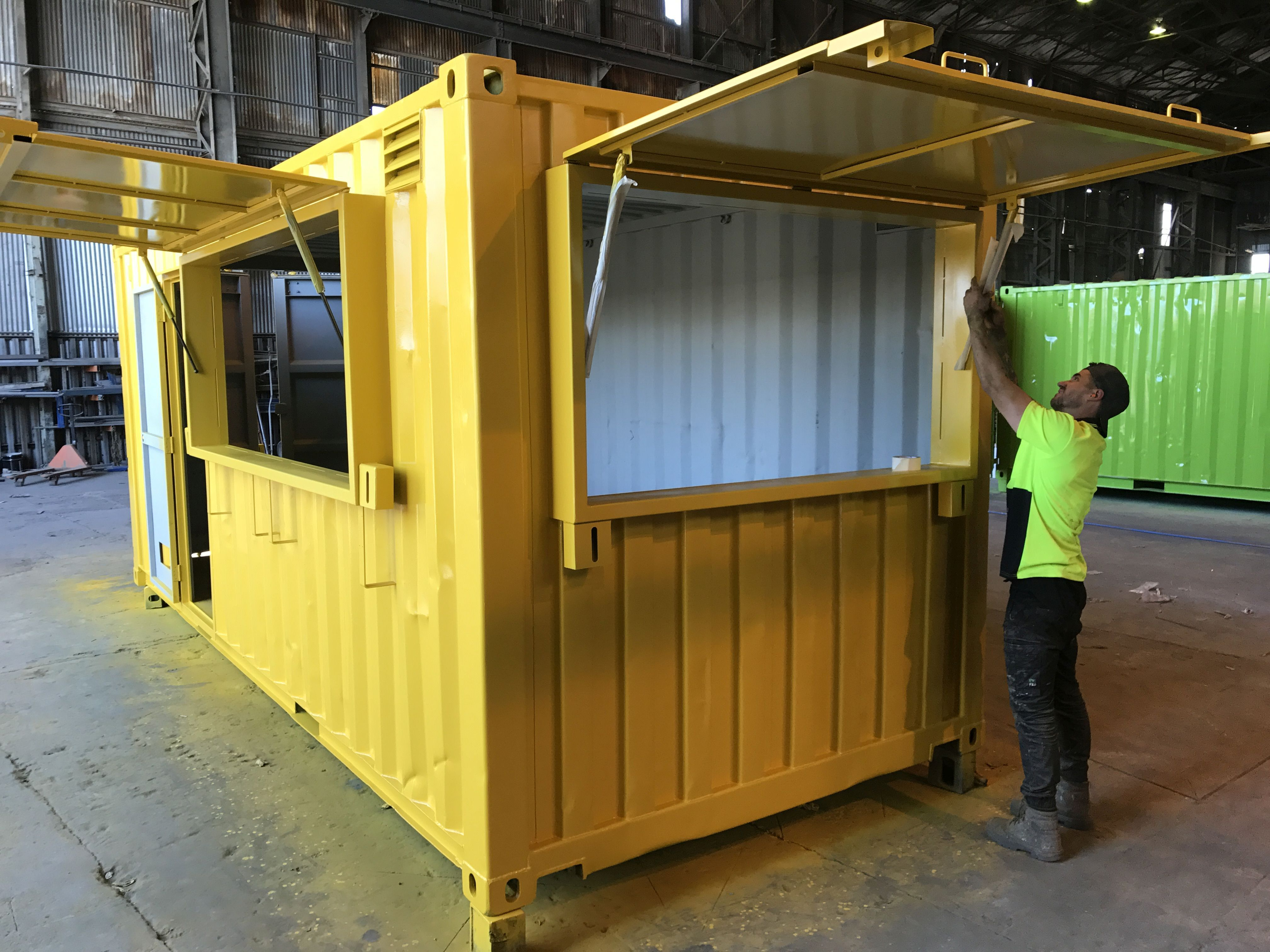 Take A Look At Our Work Containerspace Container Restaurant Shipping Container Cafe Shipping Container Restaurant