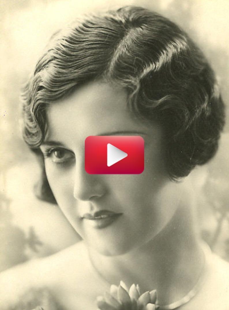 Flapper Style 1920's Hair Helper The Easy Bob Flapper ...