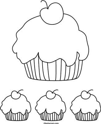 Cupcake Printable Coloring Pages Cupcake Coloring Pages Food Coloring Pages