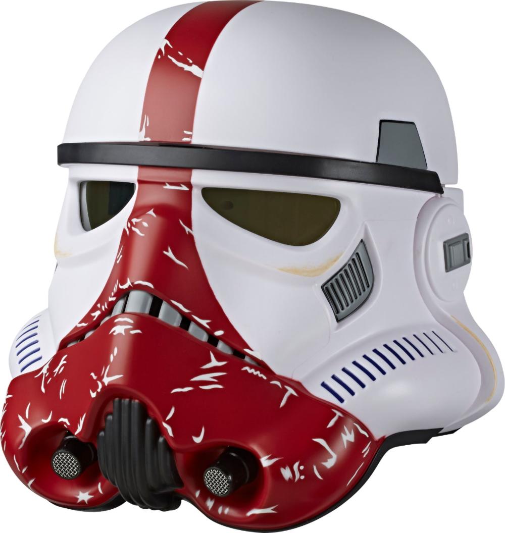 Star Wars The Black Series Incinerator Stormtrooper Premium Electronic Helmet E8671 Best Buy Star Wars Helmet Stormtrooper Helmet Stormtrooper