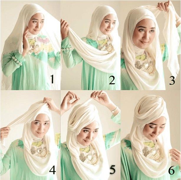Tutorial Hijab Pashmina Untuk Wisuda Syari Jilbab Cantik Jilbab Sederhana Tutorial Hijab Mudah