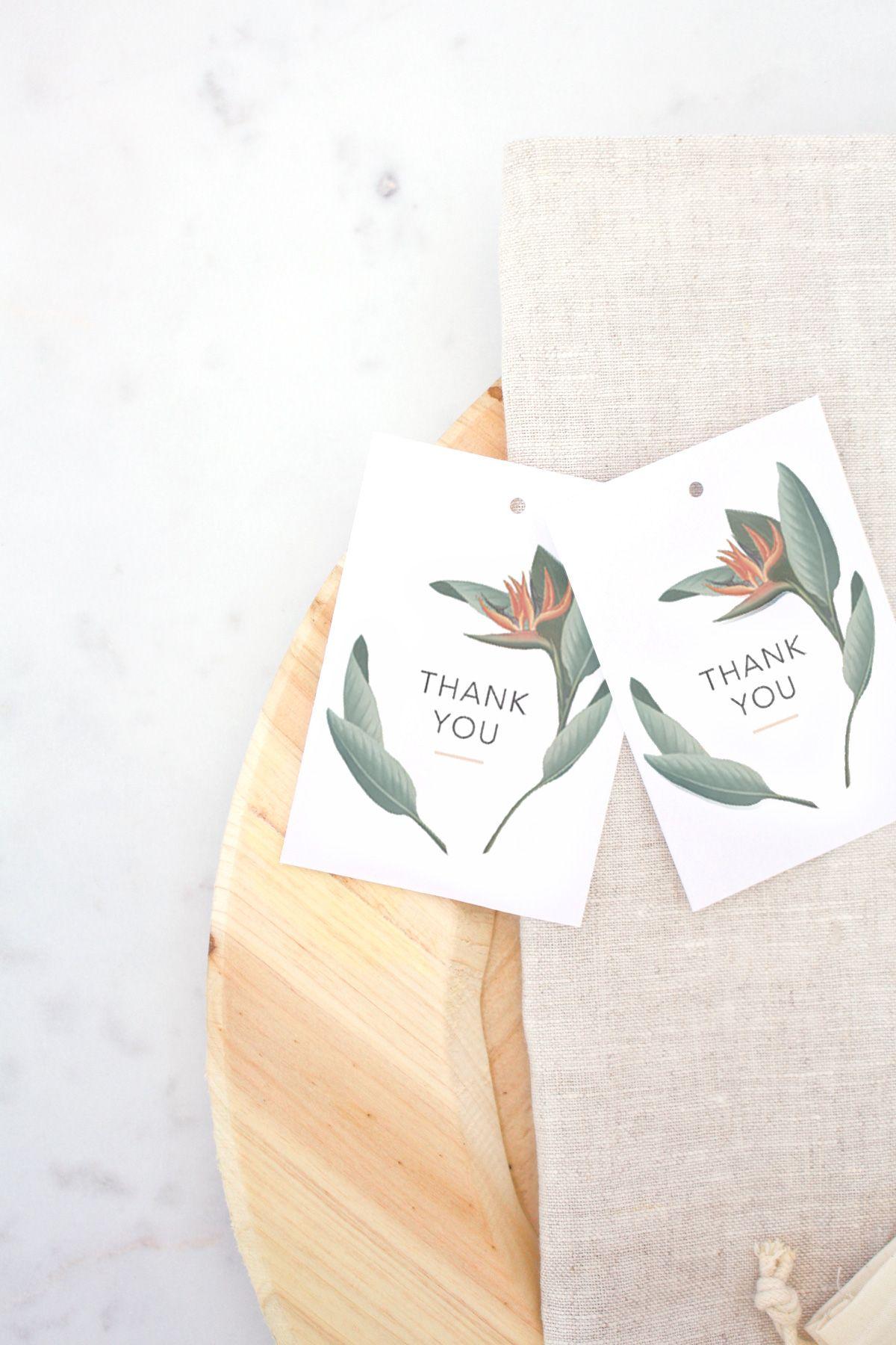 Free Printable Thank You Cards + Tags | Free printable, Free ...