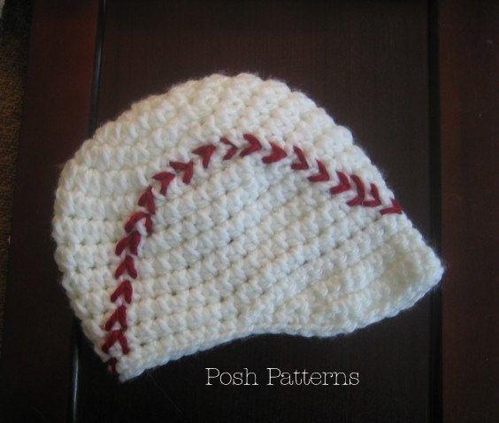 Crochet Pattern Baseball Hat Crochet Pattern Crochet Hat Pattern