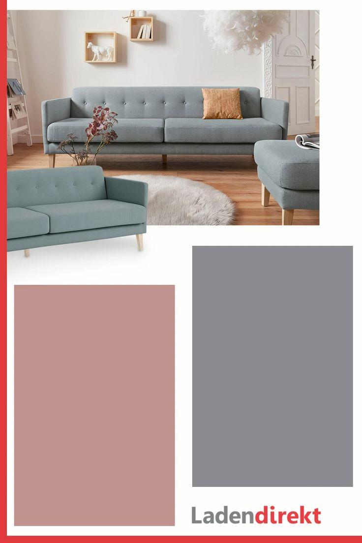 Modernes 3-Sitzer Sofa in geradlinigem skandinavischem ...