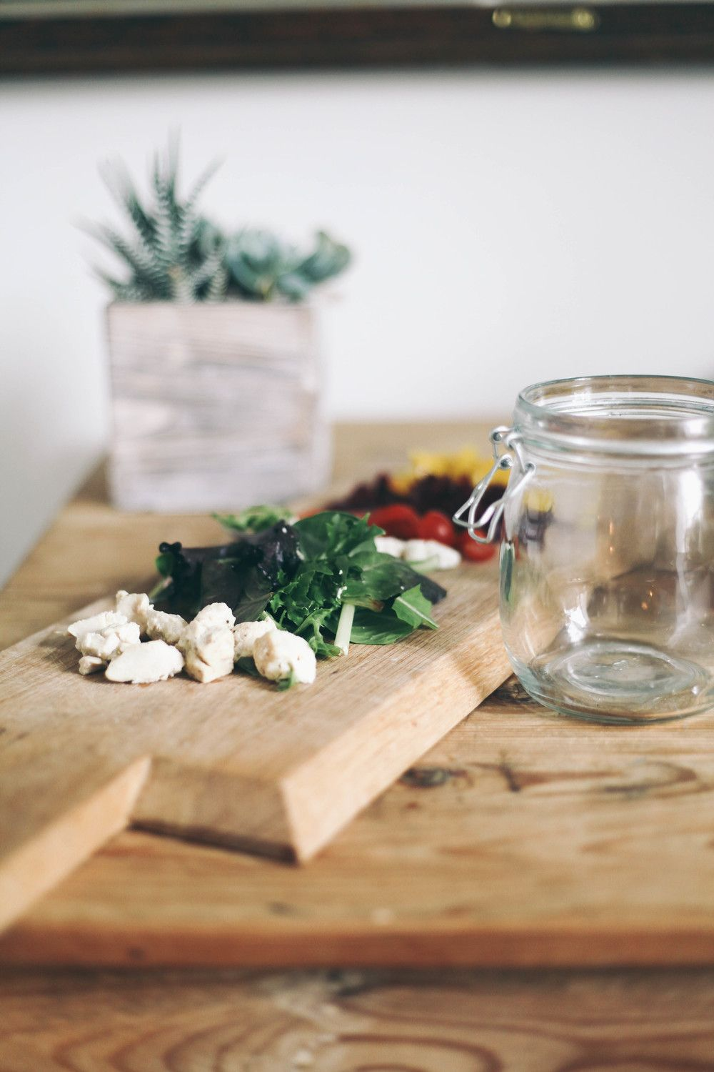 Salad In A Jar — Treasures & Travels (LUNCH)