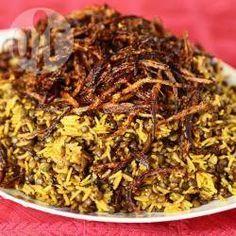 Arroz com lentilha árabe @ allrecipes.com.br