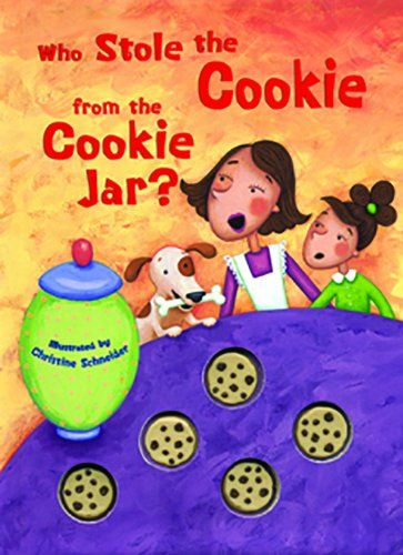 Who Stole The Cookie From The Cookie Jar Book Delectable Who Stole The Cookie From The Cookie Jar  Cookie Jars Cookie 2018