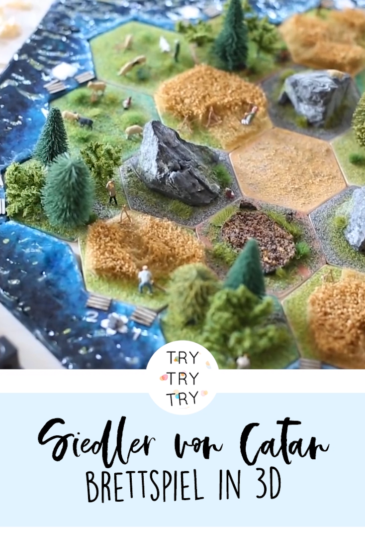 Photo of Mega DIY! Siedler von Catan in 3D