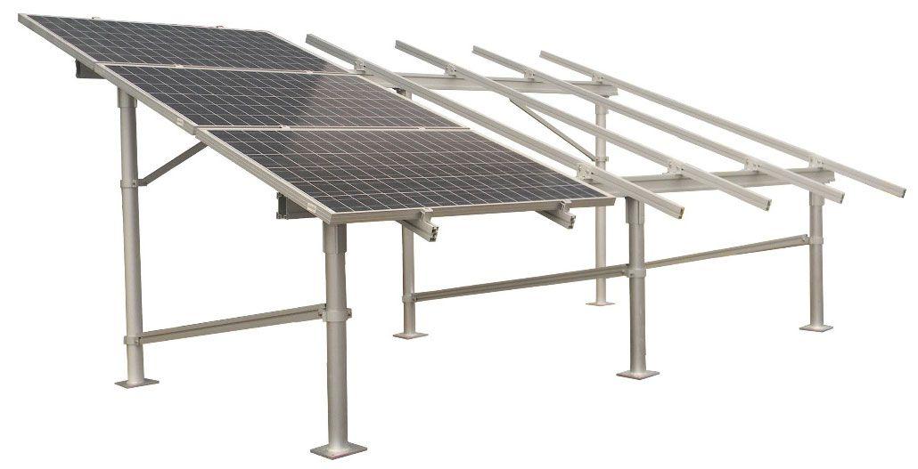 Flat Roof Ez Sunbeam Sunmodo Flat Roof Solar Solar Panels