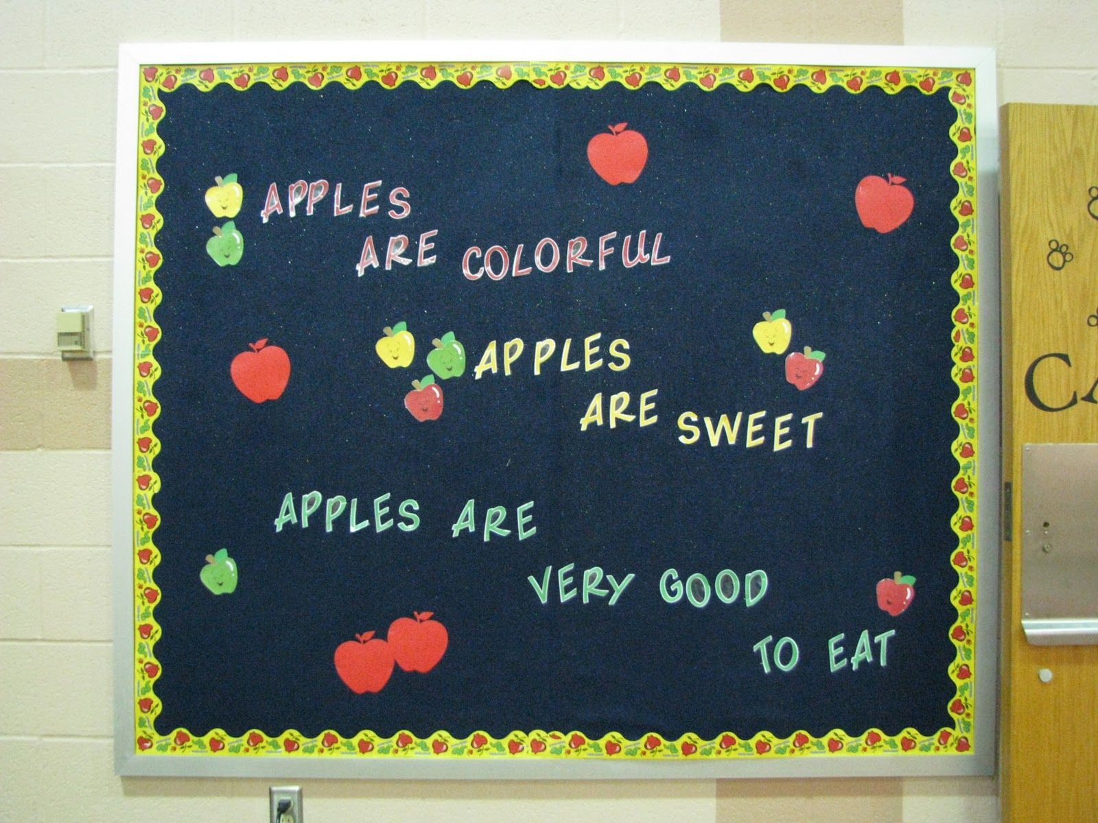 Go green vegetable bulletin board idea myclassroomideas com - School Cafeteria Bulletin Boards Cafeteria Bulletin Board Decorations Http