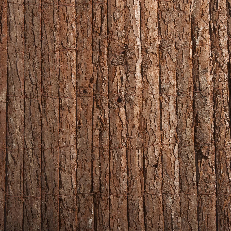 Comment Traiter Du Bois Brut canisse écorce de pin naturel, h.1.5 x l.3 m, 85% occultant