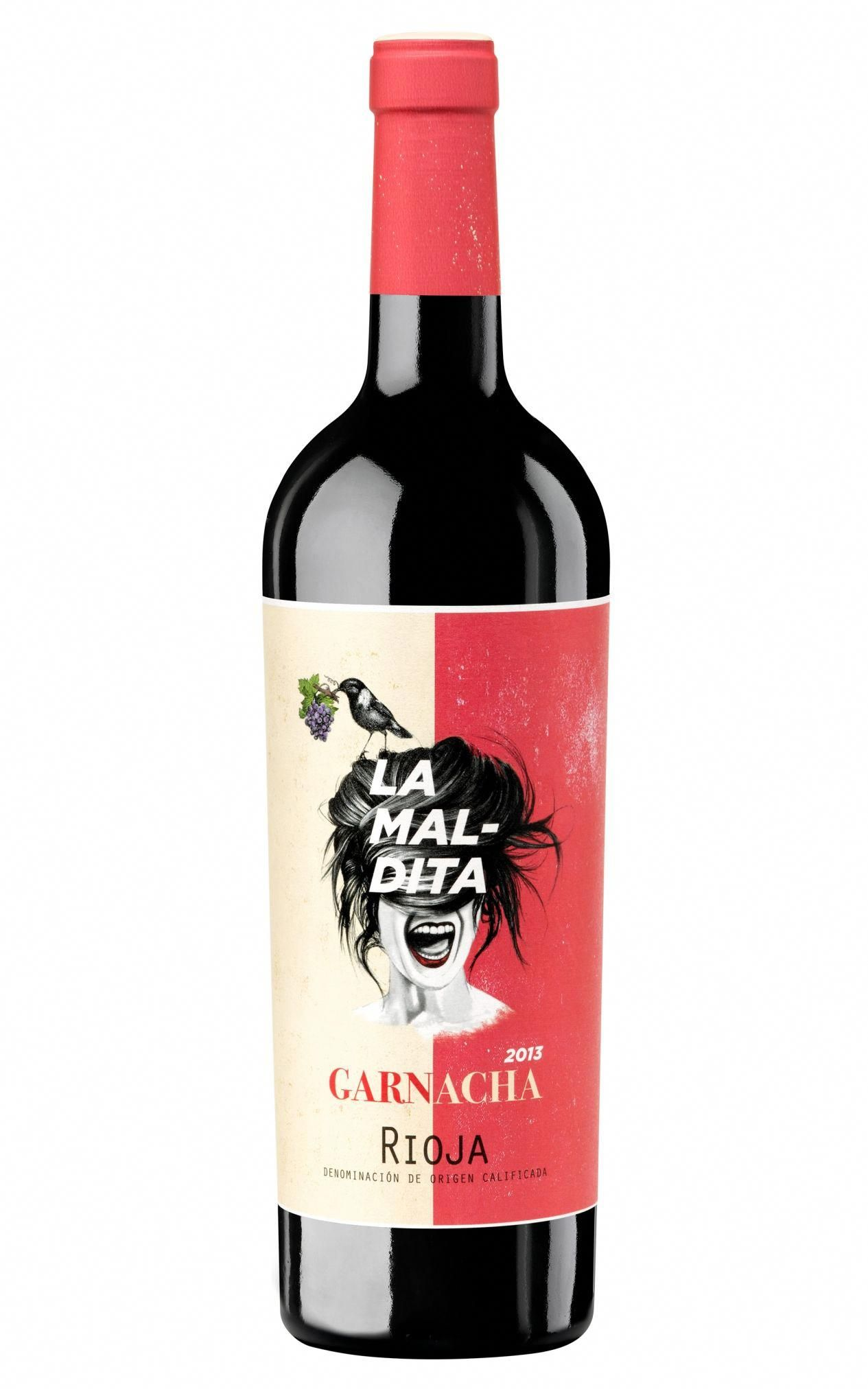 Calcco Packaging Vinedos La Maldita La Maldita D O Ca Rioja Logrono La Rioja Winelabels Wine Bottle Design Wine Packaging Wine Brands