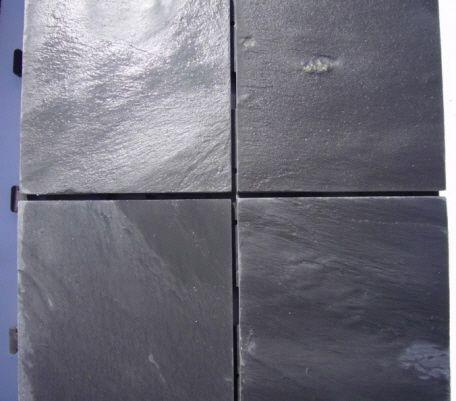 naturstein schiefer boden klick fliesen verlegebild terrassen terrassenboden terrassenbelag. Black Bedroom Furniture Sets. Home Design Ideas