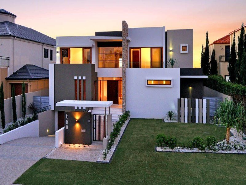 Real Home Design House Facade Ideas  Exterior House Design And Colours  Brick .