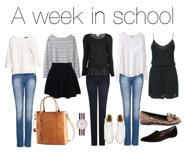 5 Outfits For A Complete School Week Keeping It Classy And Simple