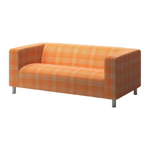 klippan canap 2 places husie orange ikea idee deco pinterest ikea orange et canap s. Black Bedroom Furniture Sets. Home Design Ideas