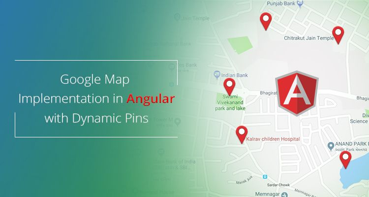 Google Map Implementation in Angular with Dynamic Pins | Web