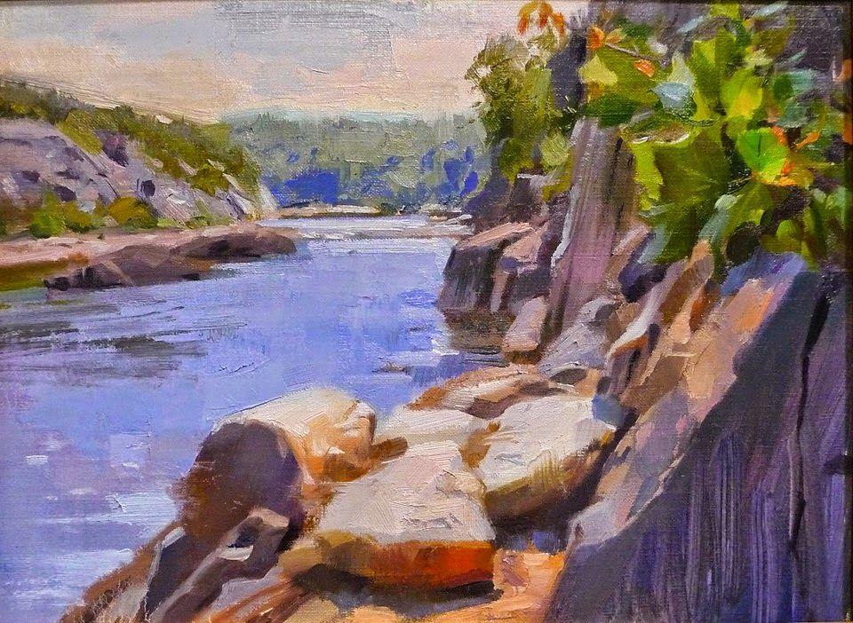 Louis escobedo colorist realist painter colourist