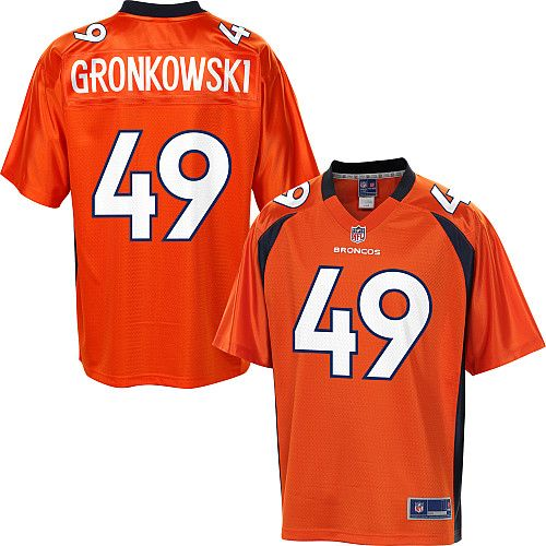 Men s Pro Line Denver Broncos Chris Gronkowski Team Color Jersey ... 431e08bd9