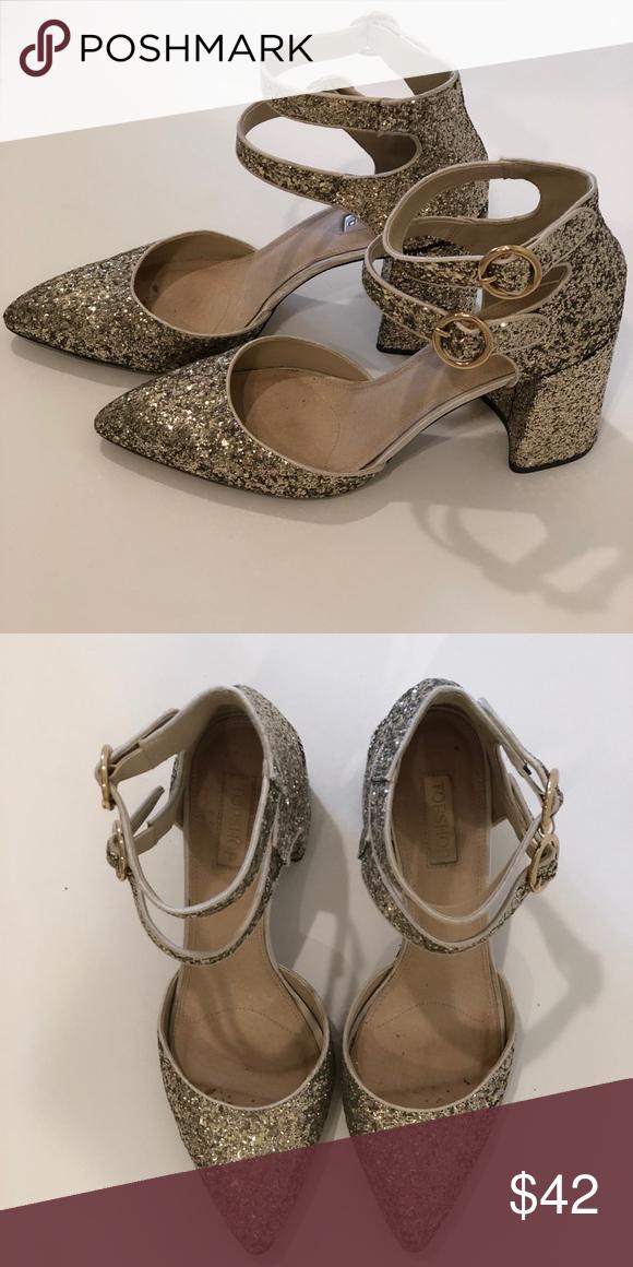 Topshop Glitter Shoes   Glitter heels