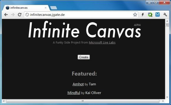 Infinite Canvas Prezi Like Web Based Canvas For Creating