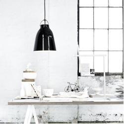 Caravaggio High Gloss Pendelleuchte P0 schwarz-schwarzIkarus.de #pendelleuchteesstisch