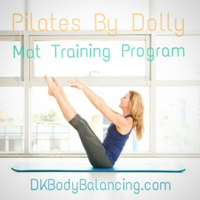 Get certified to instruct with our \'Pilates Mat Training Program ...