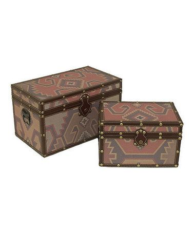 Take a look at this Aztec Box Set by Three Hands Corporation on #zulily today! $80 !!