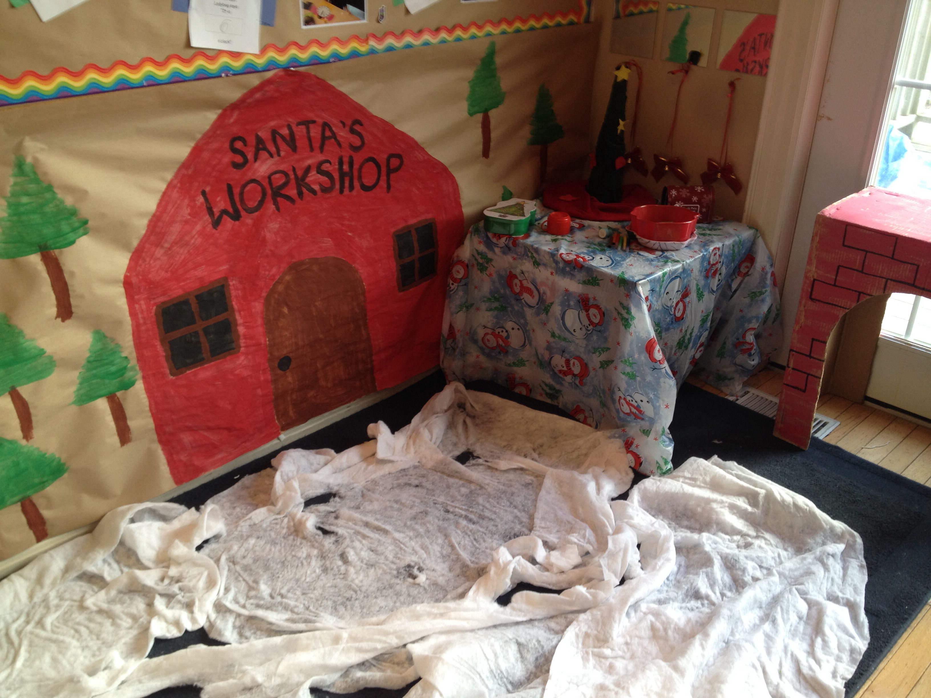 Kindergarten Santa's Workshop (Dramatic Play Centre)