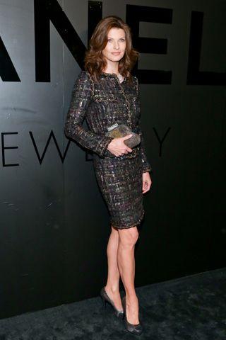Linda Evangelista in Chanel.