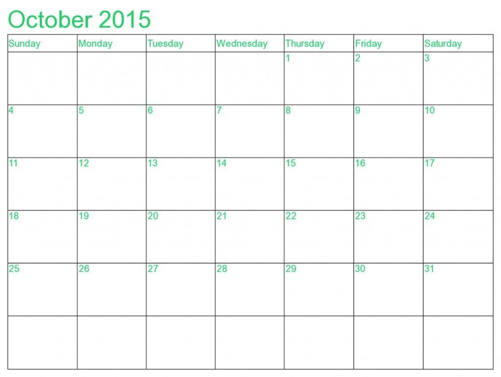 december 2015 blank printable calendar