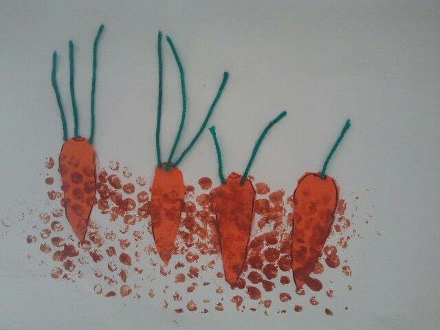 wortels onder de grond