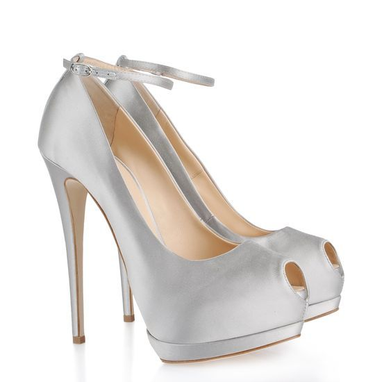 giuseppe zanotti colorful heels with white wedding