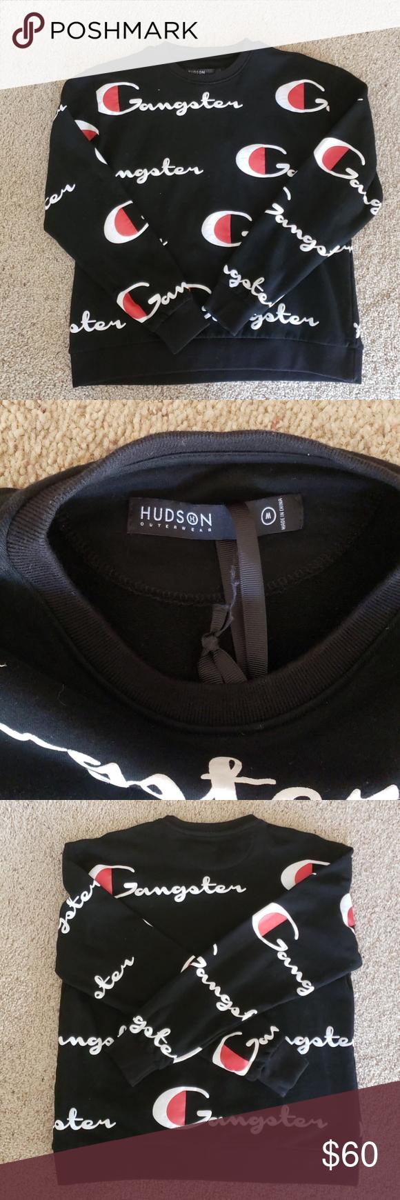 Hudson Outerwear Gangster Sweatshirt Size M Sweatshirts Hudson Jeans Outerwear [ 1740 x 580 Pixel ]