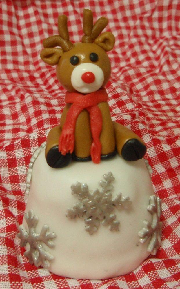 Vánoční minicake