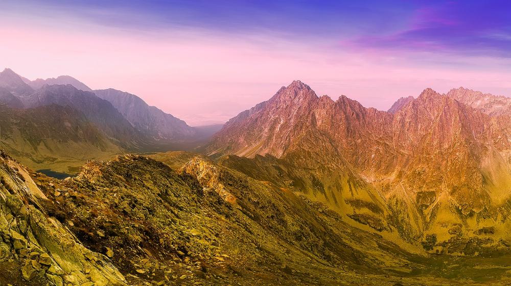 Slovensko Hory Údolie Na - Fotografia zdarma na Pixabay