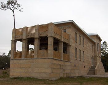 Concrete dry stack block construction for hurricane proof for Cinder block house plans