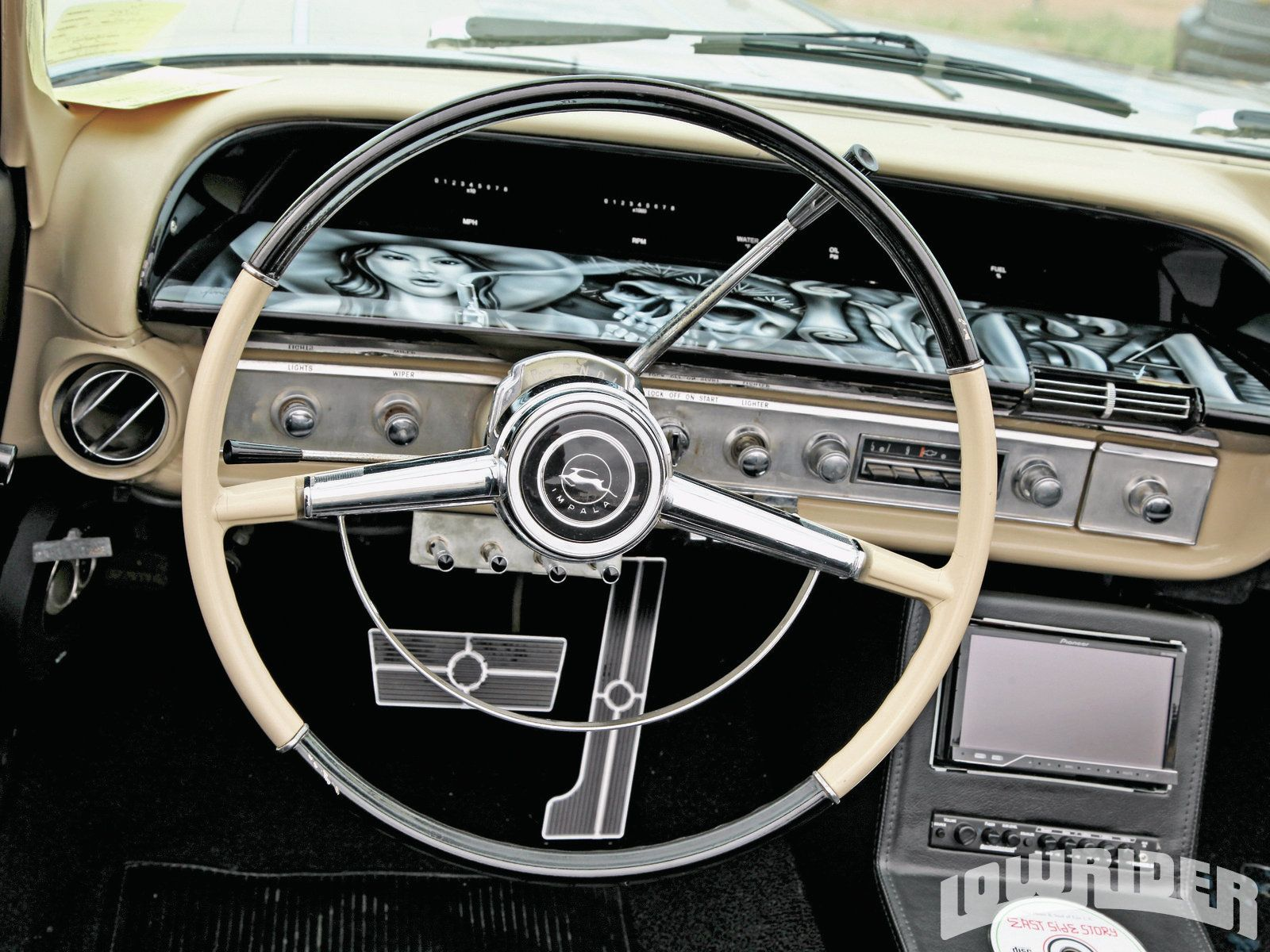 1964 Chevrolet Impala Dakota Digital Dash Klasik Arabalar