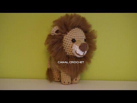 León Amigurumi Tutorial Youtube игрушки Häkeln Löwe Häkeln
