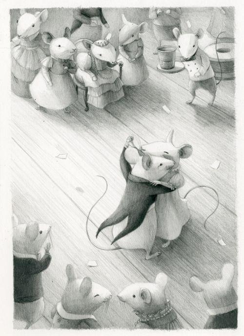 Doet me denken aan het klassiek ballet dat gemaakt is op basis van de verhalen van Beatrix Potter. Kelly Murphy